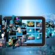 Stock Photo: Television and internet production .