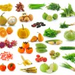 Fruit and Vegetables collection isolated on white background — Stock Photo #28226799