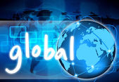 Abstract the world global — Stock Photo