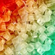 Background with ice cubes — Stock Photo #28249757