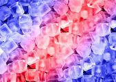 Tle kostki lodu — Zdjęcie stockowe