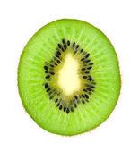Beautiful slice kiwi isolated on white background — Stock Photo