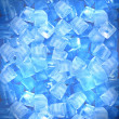 Background of ice cubes — Stock Photo
