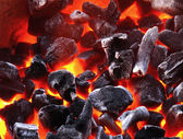 Charcoal background — Stock Photo