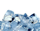 冰的多维数据集的背景 — 图库照片