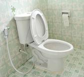 Toilet at office — Stock Photo