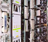 Telecommunications network server — Stock Photo