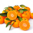 Ripe orange isolated on white background — Stock Photo #28338459