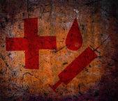 Medical grunge background — Stock Photo