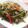 Stir Fried Water Spinach — Stock Photo #28373993