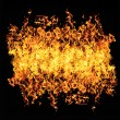 Fire flame background — Stock Photo #28375329