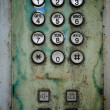 Old telephone Keypad — Stock Photo