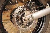 Motosiklet motoru disk fren — Stok fotoğraf