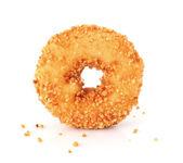 孤立在白色背景上的甜甜圈 — 图库照片
