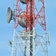 Antenna Tower of Communication — Stock Photo