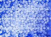 Fondo con cubos de hielo azul — Foto de Stock