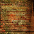 Abstract the old grunge wall for background — ストック写真