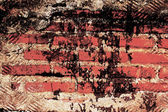 Abstract the old grunge wall for background — Foto Stock