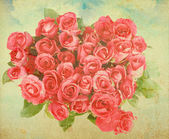 Beautiful abstract background with rose — Stock Photo