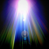 Rays on black background. Abstract background. — Stock Photo