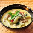 Foto Stock: Green pork Curry , Thai cuisine