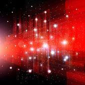 красный абстрактный фон на рождество — Стоковое фото