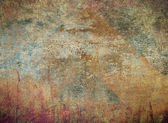 Abstract the old grunge wall — Foto Stock