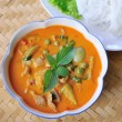 Pork Curry , Thai cuisine — Stock Photo