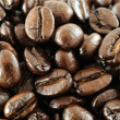 Macro coffee beans. — Stock Photo