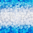 Background with ice cubes — Stockfoto
