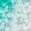Stock Photo: Background with ice cubes