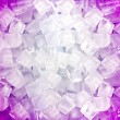Pink white ice cubes — Foto de Stock