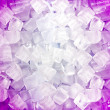 Pink white ice cubes — Stock Photo