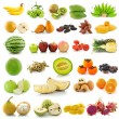 Stock Photo: Set if fruitand vegetables