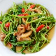 Stir Fried Water Spinach — Stock Photo #28589295