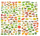 Collection of food — 图库照片