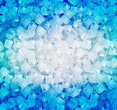 Achtergrond met ijsblokjes — Stok fotoğraf
