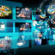 Stock Photo: Television and internet production