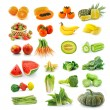 Fruits  vegetables. With beta carotene. — Stock Photo