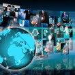 World business and Technology — Stock Photo #29975201