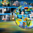 World business and Technology — Stock Photo #29975345