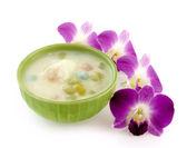 Thai dessert , Bualoy — Stock Photo