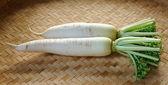 Daikon radishes — Stock Photo
