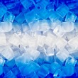 Background with ice cubes — 图库照片