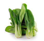 Bok choy (chinese cabbage) isolated on white background — Stock Photo