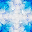 Background with ice cubes — Stock Photo
