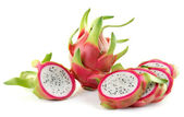 Dragon Fruit on white background — Stock Photo