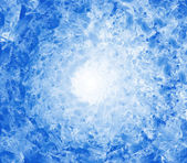 Background of blue afstract ice cubes — Stock Photo