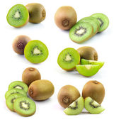 Kiwifrukt isolerad på vit bakgrund — Stockfoto