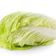 Lettuce heart on a white background — Stock Photo